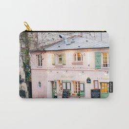 Charming Pink La Maison Rose Restaurant in Paris, France Carry-All Pouch