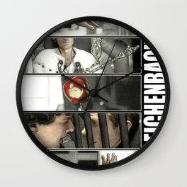 The Reichenbach Fall Wall Clock