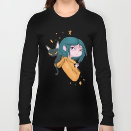Twitchy, Witchy Girl Long Sleeve T-shirt