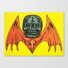 skullbat Canvas Print