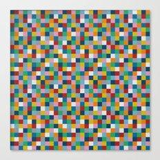 Colour Block Canvas Print