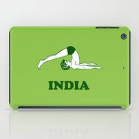 india iPad Cases featuring India  by Tshirtbaba