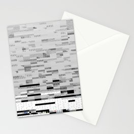 50 Shades of Pixel Stationery Cards