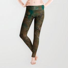 Patina Copper Leggings