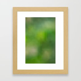 PIXELED Framed Art Print