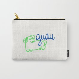 Guau - a dog Carry-All Pouch