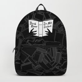 Book Lover, Do Not Disturb Backpack