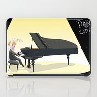 tim shumate iPad Cases featuring Tim Minchin by Lesley Vamos