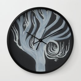 Lord Of The Holy Woods Wall Clock