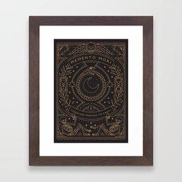 Memento Mori - Prepare to Party Framed Art Print