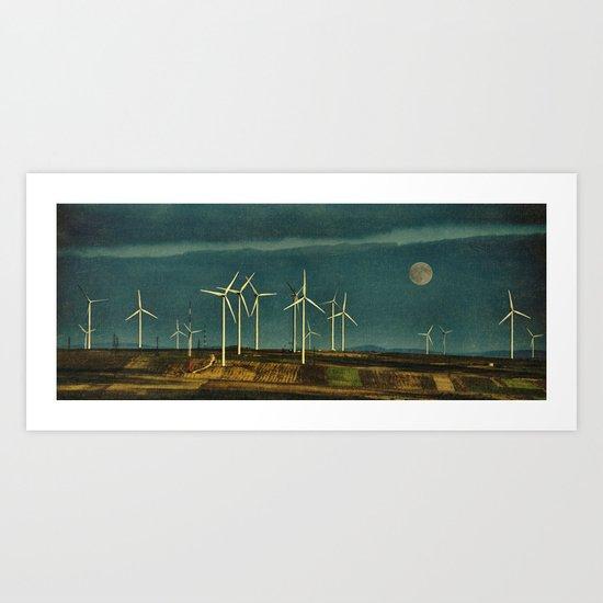 Eco Morning Art Print
