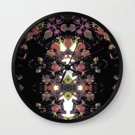 Abstract Stripe Print Wall Clock