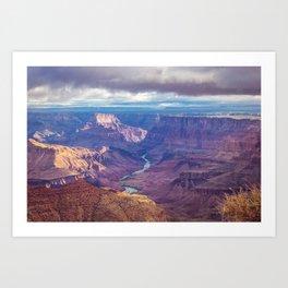 Grand Canyon and the Colorado River Art Print