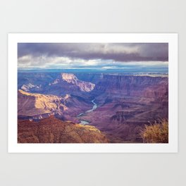 Grand Canyon and the Colorado River Art Print