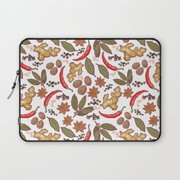 Spices pattern. Laptop Sleeve