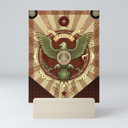 Peace We Trust Mini Art Print