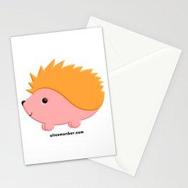 Kawaii Hedgehog Stationery Cards