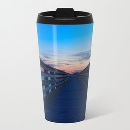 Pier in Dunedin Florida Travel Mug