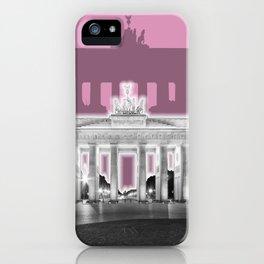 BERLIN Brandenburg Gate | Graphic Art | ink iPhone Case