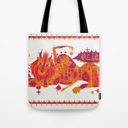 I Wish You Peace Tote Bag