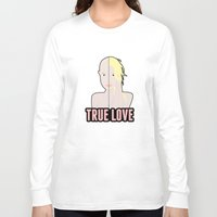britney spears Long Sleeve T-shirts featuring Britney Spears: True Love by Christopher Holden Mathews