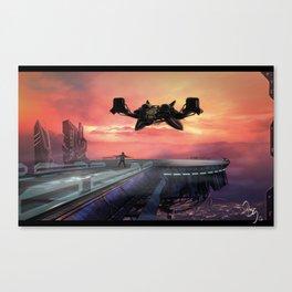 Landing Station Canvas Print