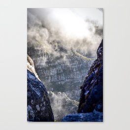 Table Mountain, South Africa Landscape Canvas Print