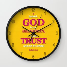 TRUST and not be afraid Wall Clock