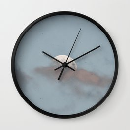 Summer Moon | Nature and LandscapePhotography Wall Clock