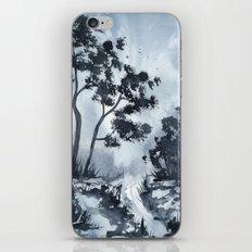 Blue Landscape  iPhone & iPod Skin