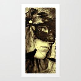 Drama Queen Art Print