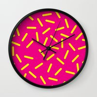 bugs Wall Clocks featuring bugs by very giorgious