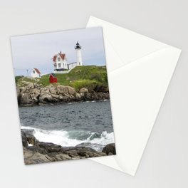 Nubble Light Cape Neddick Stationery Cards