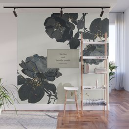 We live and breathe words. Will Herondale. Clockwork Prince. Wall Mural