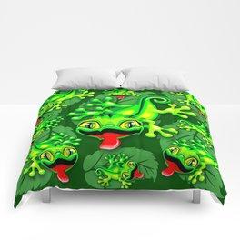 Gecko Lizard Baby Cartoon Comforters