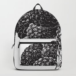 Engraved Blackberry Backpack