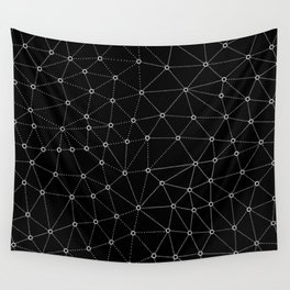 African Triangle Black Wall Tapestry