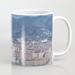 Aerial View Barcelona City, Spain Coffee Mug