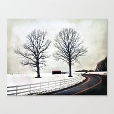 The Bend 2.0 Canvas Print