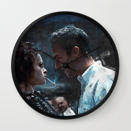 The Confrontation With Marla Singer - Fight Wall Clock