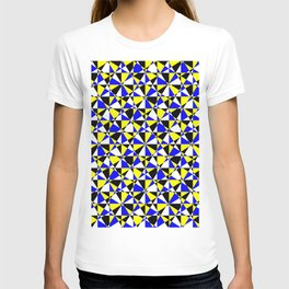 Crazy psychedelic art in chaotic visual color and shapes - EFG220 T-shirt