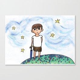 Like A Child Canvas Print