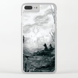 The Spirit Lives On Clear iPhone Case