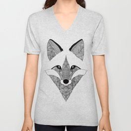 Fox Unisex V-Neck