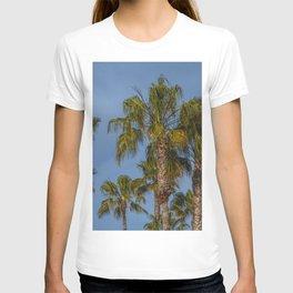 Palm Trees on Laguna Beach in California T-shirt