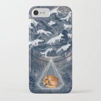 wolf iPhone & iPod Cases featuring GHOSTS  by Sandra Dieckmann
