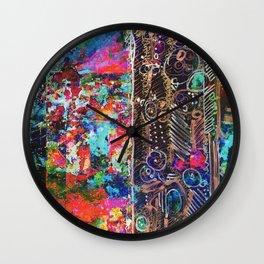 Phosphene I Wall Clock