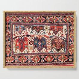 Afshar Kerman South Persian Bag Print Serving Tray