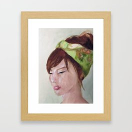 Shiawasena Framed Art Print