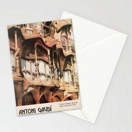Antoni Gaudi Exhibition poster 1979 Stationery Cards